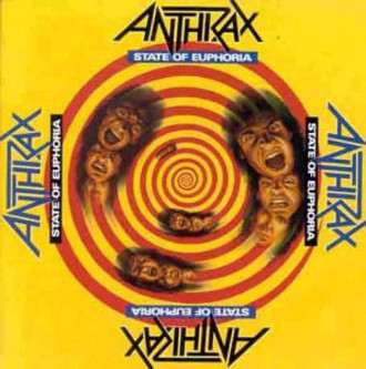 CD ANTHRAX - STATE OF EUPHORIA (IMP/NOVO/LACRADO)