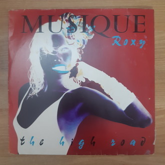 LP ROXY MUSIC - MUSIQUE ROXY - THE HIGH ROAD (USADO)
