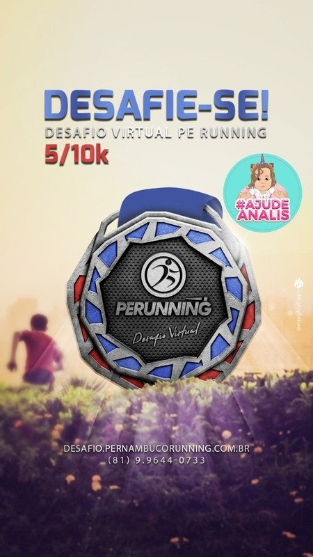 DESAFIO VIRTUAL PE RUNNING - 5K E 10K