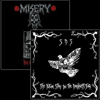 MISERY/SDS - split LP (colored vinyl)