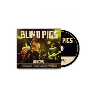 CD Digifile Blind Pigs - Lights Out
