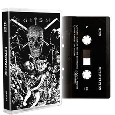 "G.I.S.M. ""Detestation"" Cassette Tape"