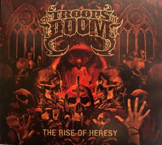 LP THE TROOPS OF DOOM - THE RISE OF HERESY (NOVO) COM POSTER + CD