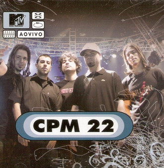 CD CPM 22 - MTV AO VIVO (NOVO/LACRADO)