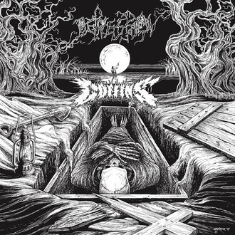 COFFINS/DEPRESSION - split LP