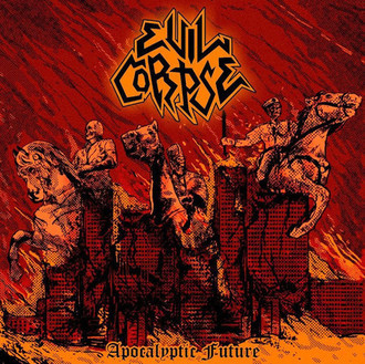 LP EVIL CORPSE - Apocalyptic Future (Orange vinyl )