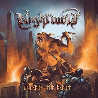 LP NIGHTWÖLF - Unleash the Beast (Brown vinyl)