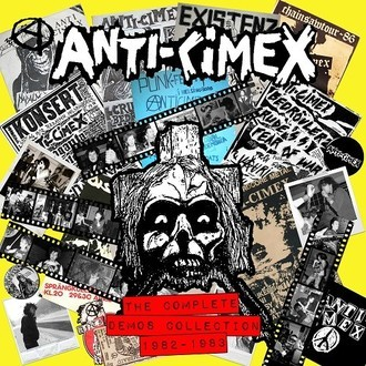 ANTI CIMEX - The Complete Demos Collection 1982 1983 LP