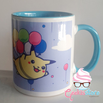 Caneca - Flying Pikachu