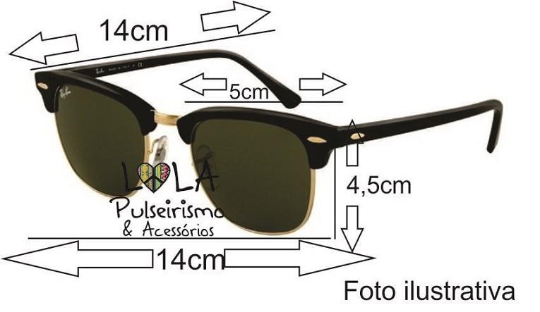gafas ray ban clubmaster tamaños