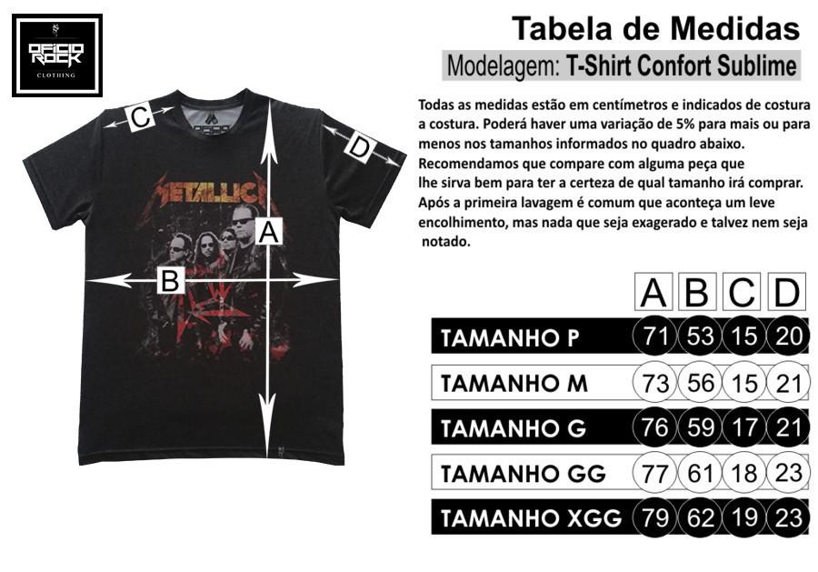 0d30227cd9 Camiseta Iron Maiden Eddie Prisioner - Ofício Rock