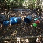 Policía antidrogas destruyó 14 laboratorios del narcotráfico en el VRAE