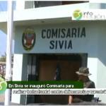Se instaló comisaría en distrito de Sivia en el VRAE