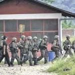 Patrulla de Fuerzas Armadas destruyó red de comunicaciones de remanentes senderistas en el VRAE