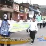 Ciudadanos de Tingo María marcharon contra las drogas