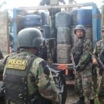 Policía decomisa combustible transportado ilegalmente desde Ucayali