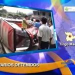 Cocaleros y taxistas hicieron desorden al término de jornada de protesta