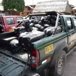 Policía decomisó 300 kilos de hoja de coca ilegal en Cayumba
