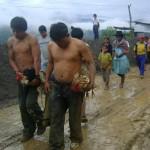 Pobladores organizados capturan a los wallpa suas, que eran el terror de familias pobres de Kimbiri en el VRAE