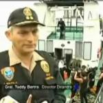 Buzos supervisarán que embarcaciones marítimas no saquen droga del país