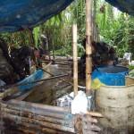 Policía destruye dos laboratorios de droga, una tonelada de insumos y una tonelada de coca ilegal