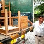 Entregan mobiliario escolar a colegio del distrito de Hermilio Valdizán