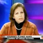 Lourdes Flores reafirma defensa de César Cataño pese a sus vinculaciones con el narcotráfico y lavado de activos