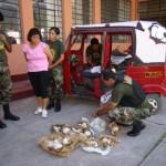Evitan el ingreso de 14 kilos de droga al mercado de Tingo María