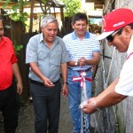Inauguran servicio de agua potable en asentamientos humanos de Leoncio Prado