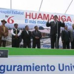 Presidente Alan García anuncia electrificación total en poco tiempo, en el VRAE