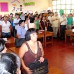 Capacitan a 190 profesores de nivel primario en Leoncio Prado