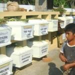 Después de 18 años, deudos entierran a familiares asesinados por Sendero Luminoso en Mantaro