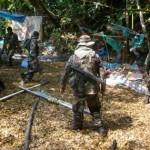 Frente Policial Huallaga destruyó ocho laboratorios de producción de PBC en el Valle del Monzón