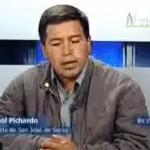 Alcalde de San José de Secce señala que paz y tranquilidad han retornado a su comunidad