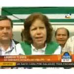 Lourdes Flores habla sobre desbalance de César Cataño (video)