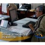 Aprueban voto electrónico en el Congreso (video)