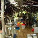 Efectivos antidrogas intervienen depósito de drogas en Llochegua en el VRAE
