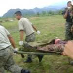 Soldado pierde el pie derecho al pisar una mina antipersonas en el Vizcatán
