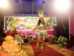 Miss Piña fue elegida en el Vraem