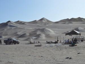 Culmina filmación de película en reserva de Paracas