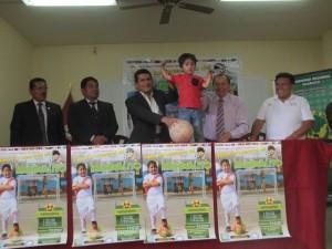 Huánuco: Relanzan campeonato de fútbol para adolescentes