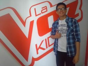 Joven tarapotino va a la final de La Voz Kids Perú