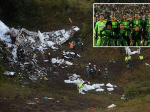Colombia: Se estrelló avión donde viajaba el Chapecoense y mueren 75 personas
