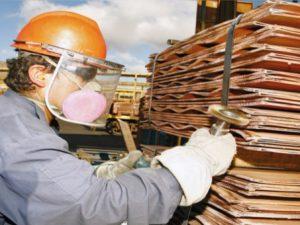 Producción de cobre suma 1.72 millones de toneladas métricas finas (TMF)