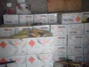 Leoncio Prado: Policía incauta material explosivo por minería ilegal
