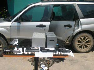 Tocache: Cuatro sujetos son detenidos con armas de fuego