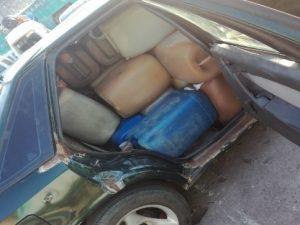 Policía incauta 250 galones de combustible en Leoncio Prado