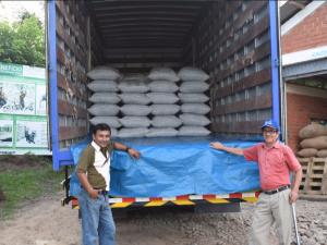 San Martín: Allima Cacao exporta su primer contenedor hacia Italia
