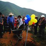 Ancash: Colocan primera piedra de proyecto de residuos sólidos en Valle Fortaleza
