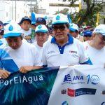 """Ministro Salinas: """"Debemos proteger y hacer un uso racional del agua para reducir enfermedades"""""""